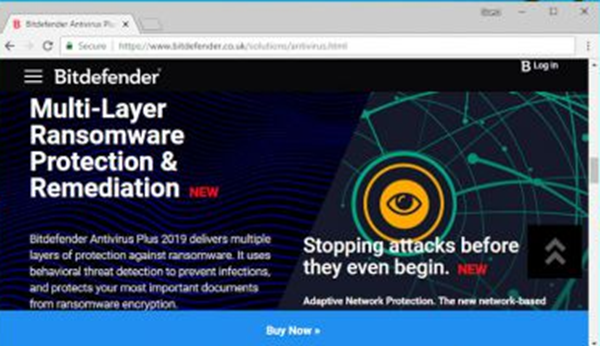 Bitdefender Stopping Attacks Before They Begin