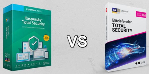 Bitdefender Total Security vs Kaspersky Total Security