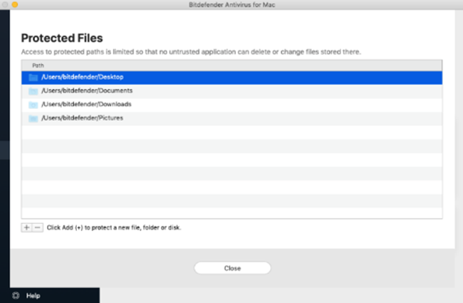Safe Files Module of Both Suites