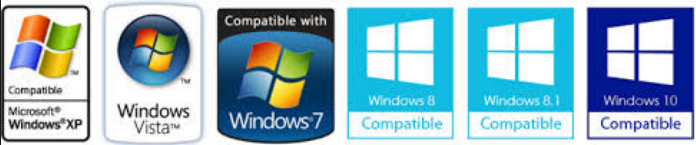 Compatible with All Versions of Windows