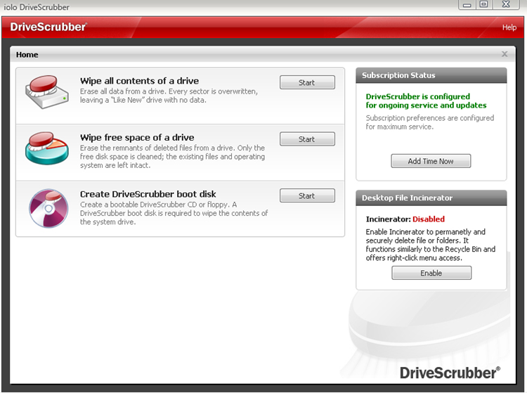 Erase Contents of A Drive