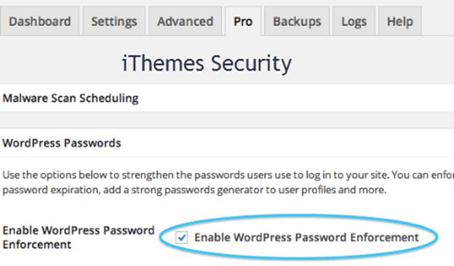 Password Enforcement